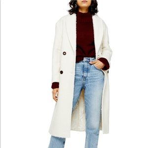 NWT Topshop Double Breasted Coat